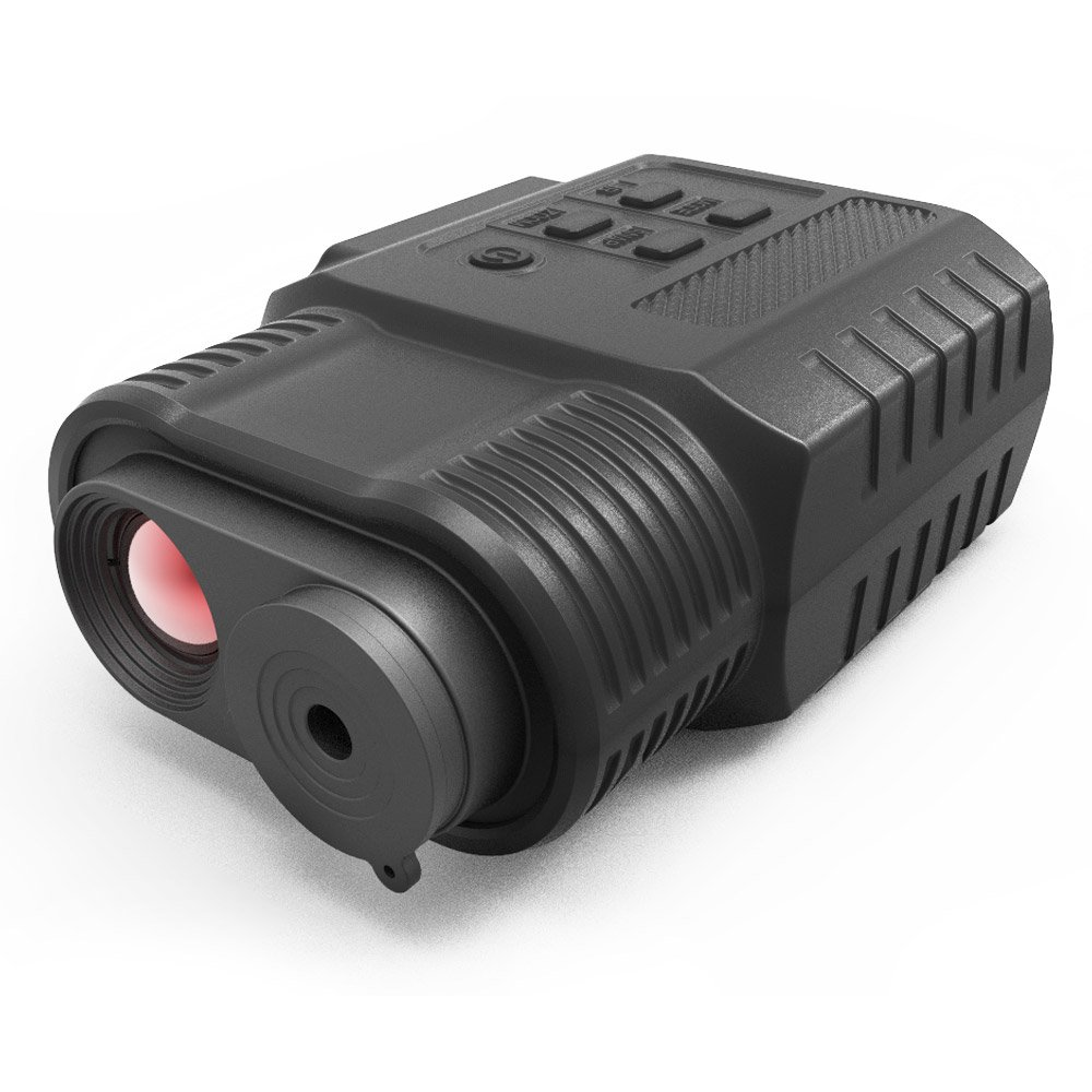 Night Vision Monocular, Infrared IR Camera & Camcorder in Complete Darkness - 500ft/150M Viewing Range for Hunting &scouting game, Security &surveillance and Observing Wildlife by SOLOMARK