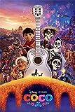 Coco - Disney/Pixar Movie Poster/Print (Regular Style B - Guitar) (Size: 24'' x 36'')