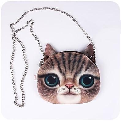 6ae3f8cb3eb HOT SEAL Doge Womens Girls Shoulder Handbag Funny Lifelike Purse Bags Gift ( cute-cat