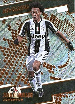 4b22f8159 Amazon.com  2017 Panini Revolution  40 Juan Cuadrado Juventus Soccer ...