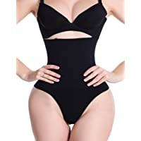 ZAIQUN Women Shape High-waisted shaping control thong with flat tummy effect