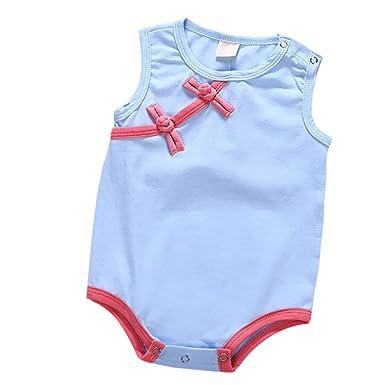BOBORA BOBORA Strampler für Baby Mädchen Ohne Arm chinesische ...