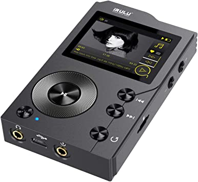 iRULU F20 - Reproductor MP3 HiFi sin pérdida con Bluetooth:DSD de ...