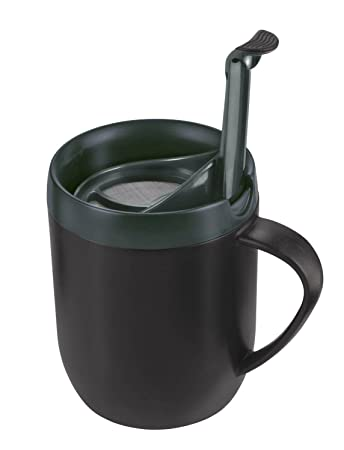 Image result for Zyliss Smart Cafe One Cup Coffee Cafetiere Cup Hot Mug