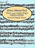 Two-  and Three- Part Inventions, Johann Sebastian Bach, 0486219828