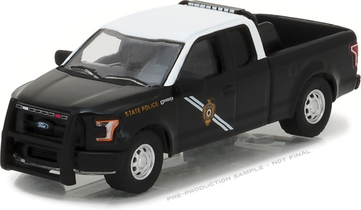 Greenlight 1 64 Hot Pursuit Series 24 2016 Ford F 150 New Mexico State Police