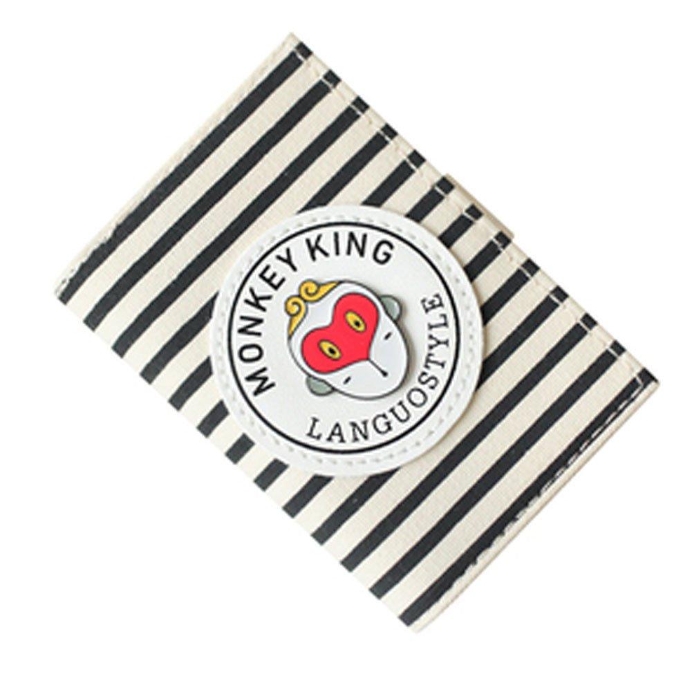Porte-cartes organisateur de carte de portefeuille, 20 fentes de cartes, Bande Blancho Bedding