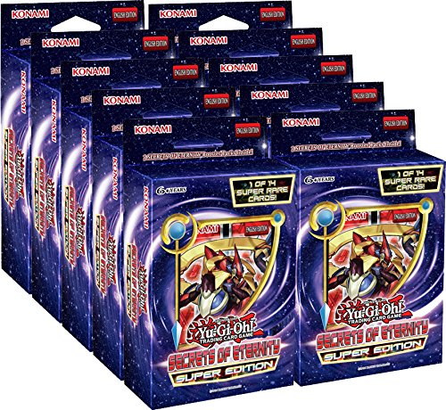 Yu-Gi-Oh! Secrets of Eternity Super Edition Display Box