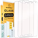Mr Shield [3-PACK] For Samsung Galaxy S5 [Tempered Glass] Screen Protector [0.3mm Ultra Thin 9H Hardness 2.5D Round Edge] with Lifetime Replacement Warranty