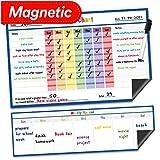 household chores calendar - Dry Erase Magnetic Chore Chart - 17