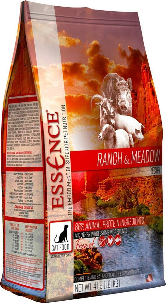 Essence Ranch & Meadow Grain-Free Dry Cat Food 4lb