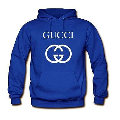 Gucci - Sudadera con capucha - para mujer azul M: Amazon.es: Ropa y accesorios