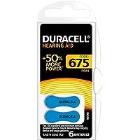 Duracell EasyTab 675 Zinc Air Hearing Aid Batteries - 600mAh - 60 Piece Retail Packaging