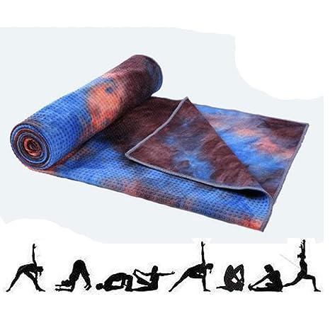 Amazon.com : ZSZBACE Super Soft Yoga Mat,Microfiber Yoga ...