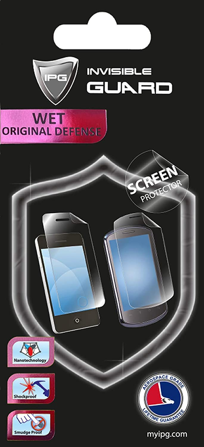 Screen Protector Skin Lifetime Replacement Warranty Invisible Protective HD Clear Guard IPG for PANASONIC LUMIX FZ300 Smooth//Bubble -Free 2 Units