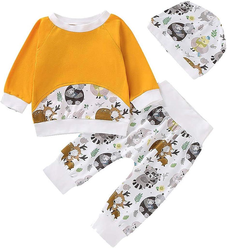 K-Youth Chandal Bebe Niña Conjunto Bebe Niño Navidad Reno Oso Sudadera Deportes Ropa Bebe Recien Nacido Pajamas Niños Invierno Camisetas Niñas Otoño Tops + Pantalones y Gorros: Amazon.es: Ropa y accesorios