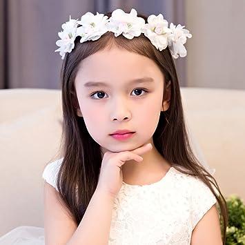 Zgp Couronne De Coiffure Couronne De Fleurs Coiffe Pour Enfants
