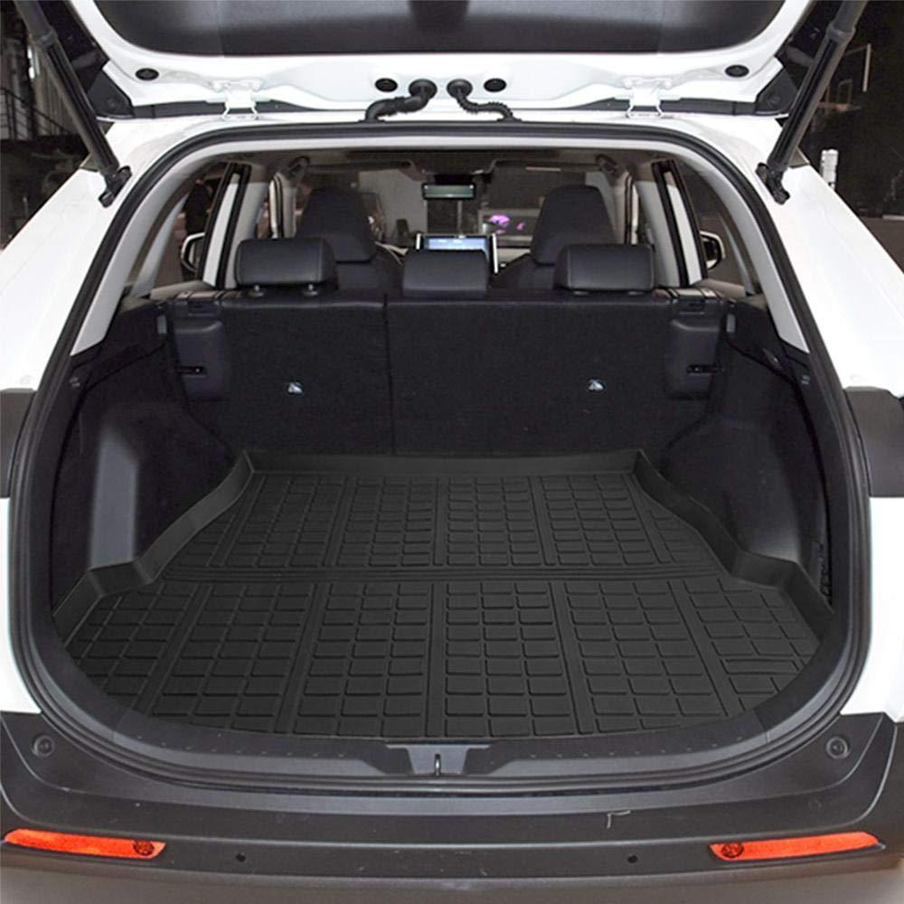 Bonus-Mats Custom Fit All-Weather Full Coverage Waterproof Car Cargo Liner Trunk Mat for Tesla Model 3 2017-2020 Beige