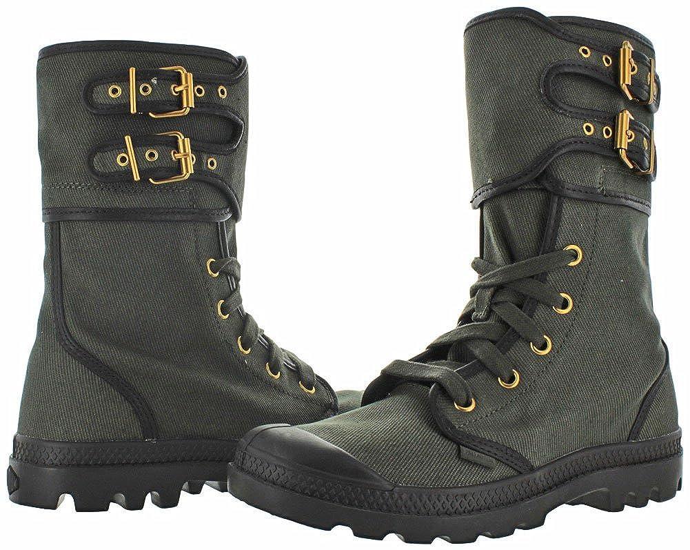 Palladium Womens Pampa Pleoton TW Zip Combat Boot