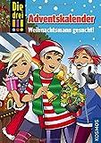 Die drei !!! Der Adventskalender: Weihnachtsmann gesucht! Mit Extra: Geschenkpapier