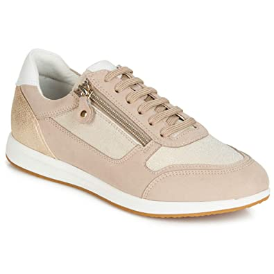 Geox D Avery A, Baskets Basses Femme: : Chaussures