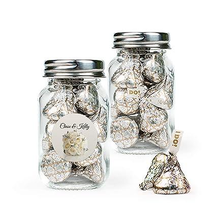 HALAL Mini Sweet Jars Mini Favours Free Personalisation