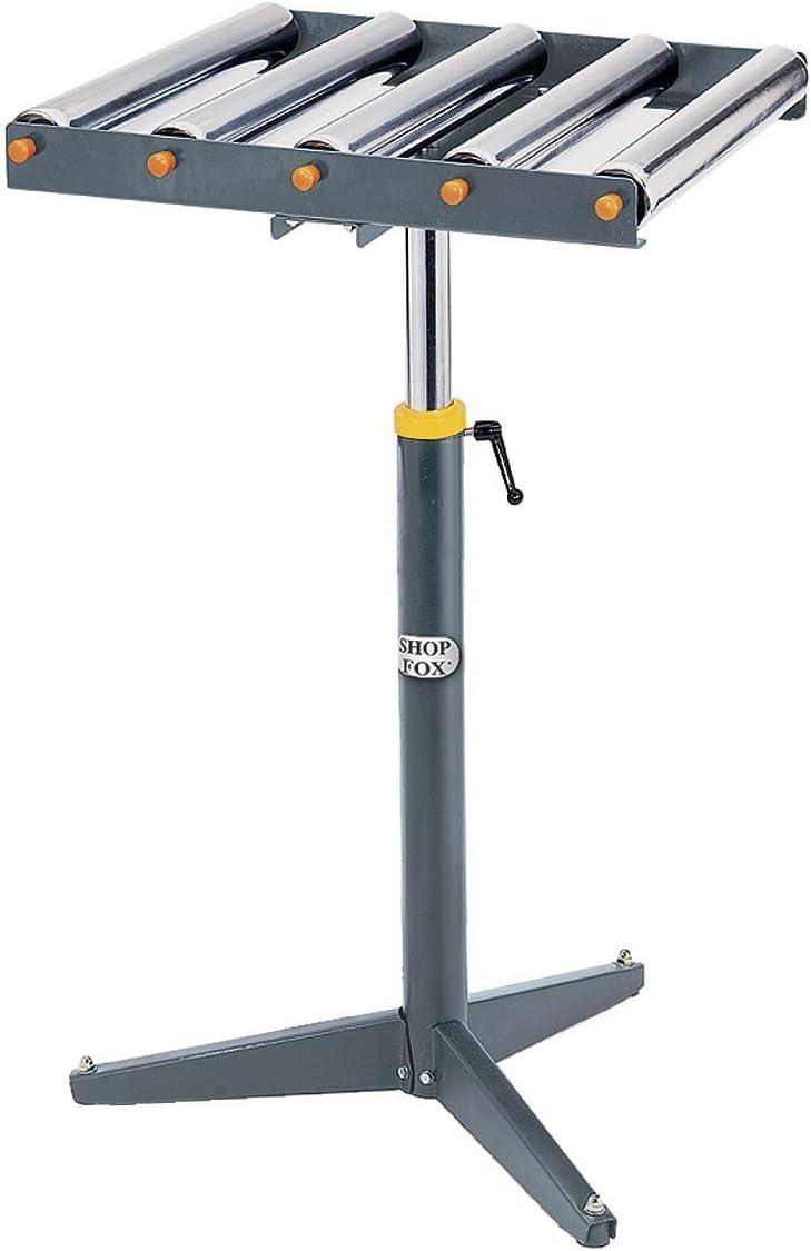 Shop Fox D2274 Heavy-duty 5-Roller Stand: Home Improvement