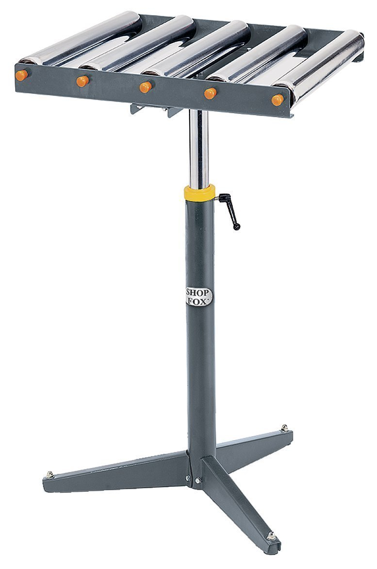 Shop Fox D2274 Heavy-duty 5-Roller Stand