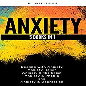 Anxiety: 5 Books in 1: All About Anxiety, Book 8 Audiobook