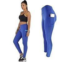 Globaltrade001 Leggins Mujer Cintura Alta Pantalone Deportive Yoga