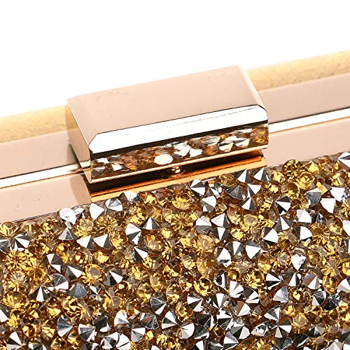 Black Clasp Prom Women Diamond Square Unique Party Clutch Evening Bag Bridal For xgqqvwXP