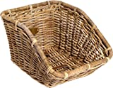 Nantucket Bicycle Basket Co. Tremont Tuckernuck Rear Cargo Basket, Natural Grey