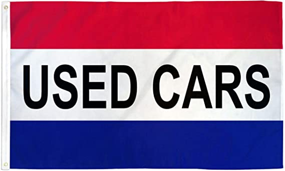 Home and Holiday Flags Used Cars Flag Car Dealer Banner Advertising Pennant Automotive Sign 3x5 Outdoor