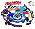Lobeve Dog Toys 10 Pack Gift Set, Variety Pet Dogs Toy Set for Medium to Small Doggie from Lobeve