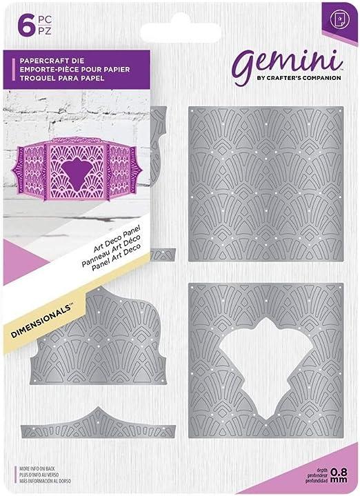 Gemini - Troquel de decoración para caja de regalo: Amazon.es: Hogar