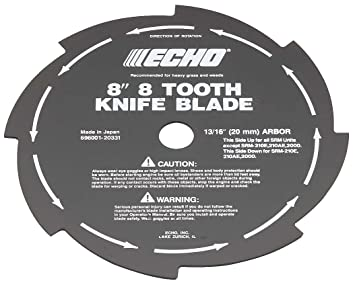 Amazon echo 69600120331 8 8 tooth grass weed blade home echo 69600120331 8quot 8 tooth grass weed blade greentooth Gallery