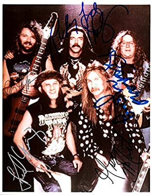 The Kentucky Headhunters Band Signed Autographed Glossy 8x10 Photo - COA Matching Hologram Stickers