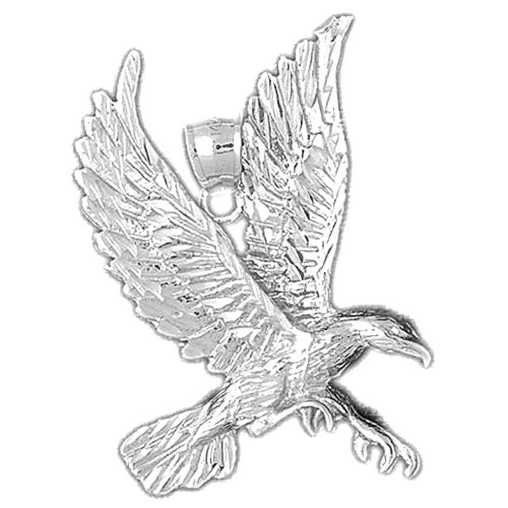 amazon silver eagle pendant 43 mm jewelry Bird of Prey Bike