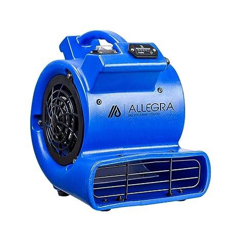 ALLEGRA Radial ventilador RL550 Turbo ventilador 1 ventilador Nivel - con contador