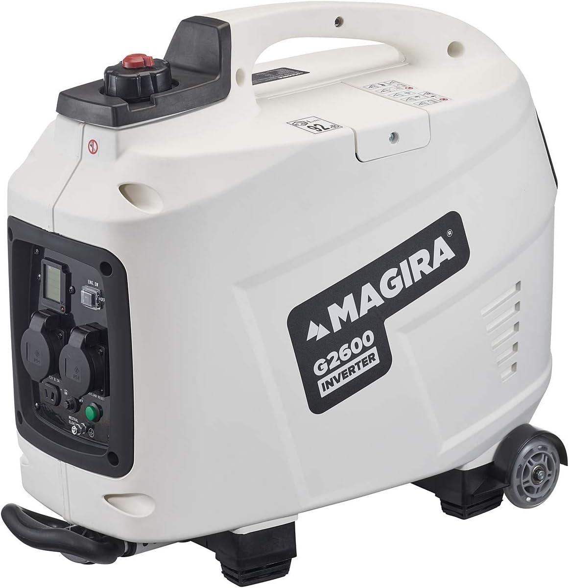 MAGIRA 8,8kW Inverter-Stromerzeuger, 8,8 kW Digital Benzin Strom-Aggregat  mit Trolley-Funktion in 8 Varianten: 8,8kW - 8,8kW