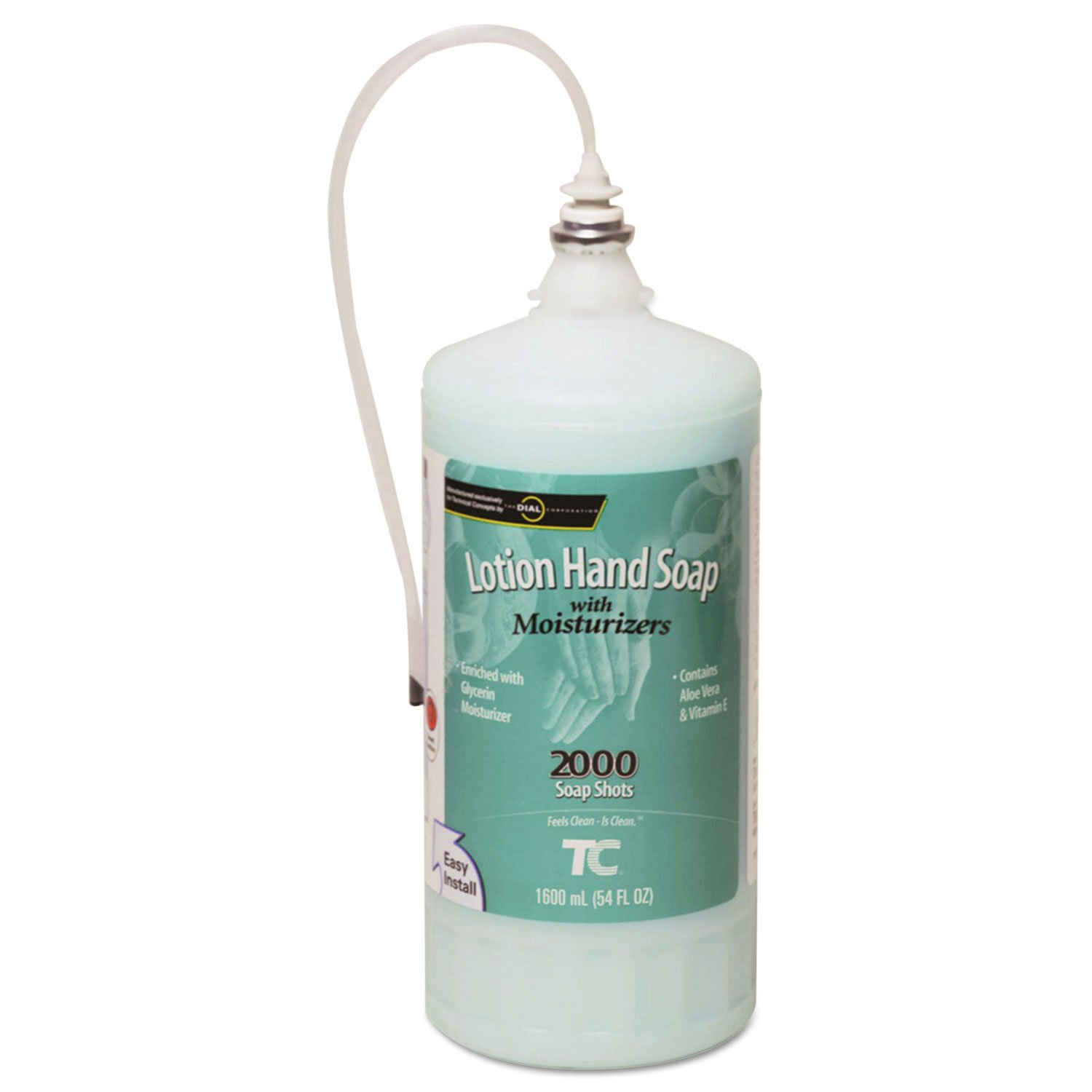 Rubbermaid Commercial One Shot Enriched Lotion Soap Refill, Passion Flower, 1600mL - Includes four per case.