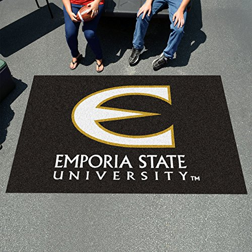 Fan Mats 36 Emporia State University Hornets 5' x 8' Ulti-Mat