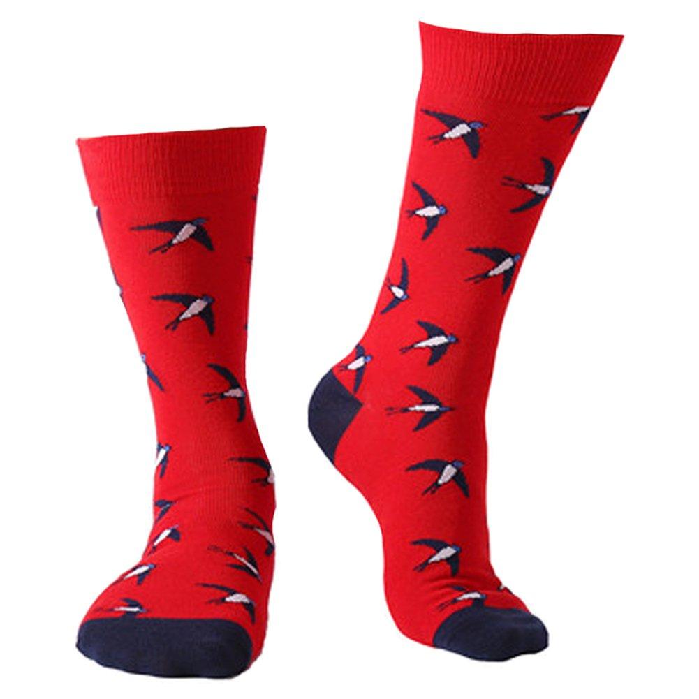 Dragon Honor Mens's Novelty Socks Funny Cute Cool Cotton Luxury Crew Casual Socks