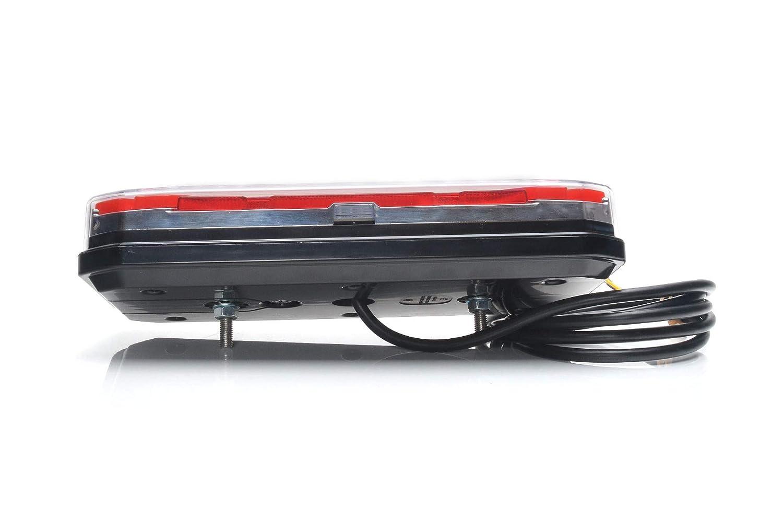 6 funzioni rimorchio Fanale posteriore a LED per camion 12 V-24 V 1290 L//P