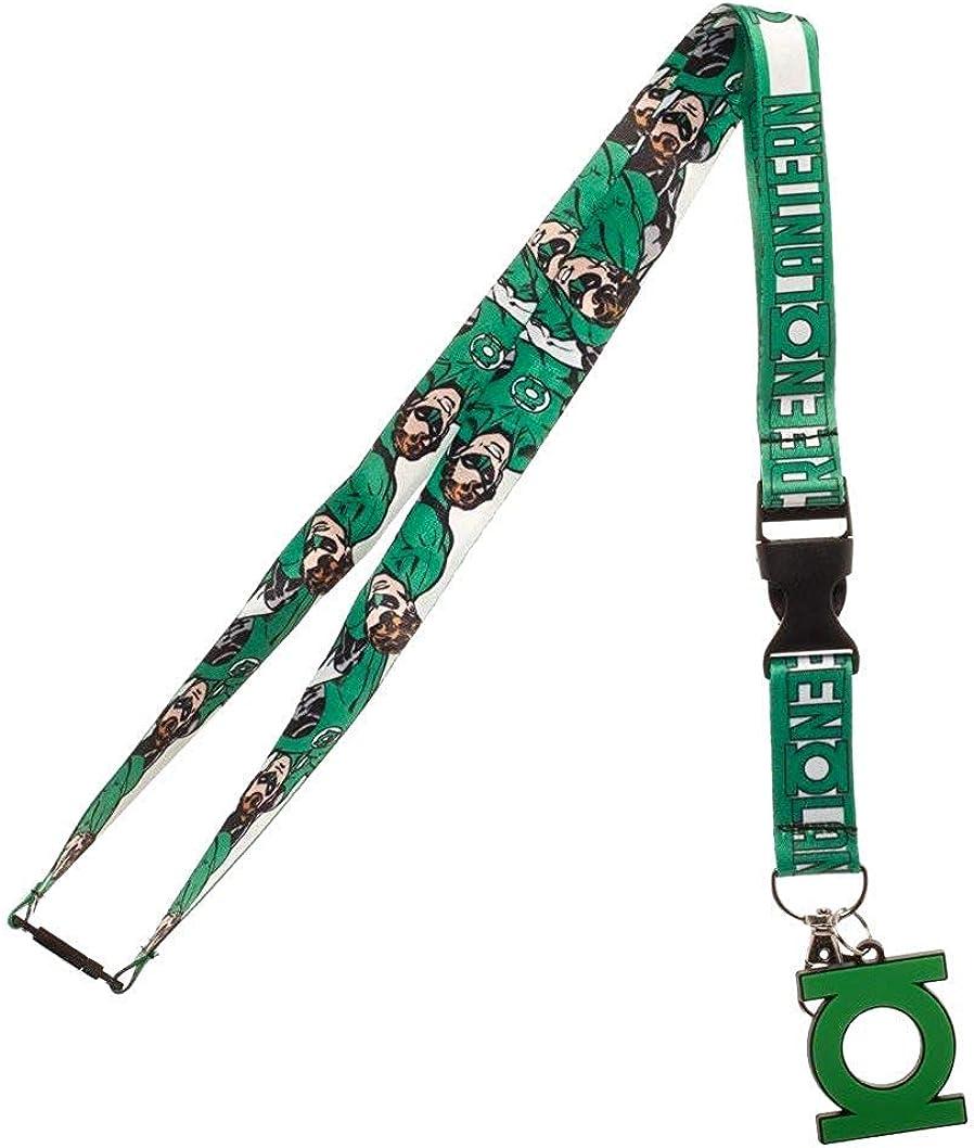 DC Comics Green Lantern Lanyard Neck Strap ID Badge Charms KeyChain Gift Series