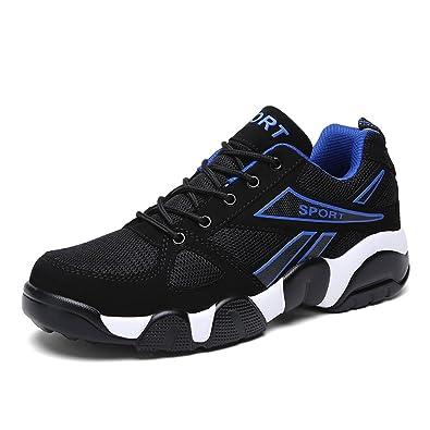 76ce861fb3 SPEEDEVE Laufschuhe Herren Damen Leicht Sportschuhe Gute Qualität Sneaker  Schwarz Rot Blau 36-45