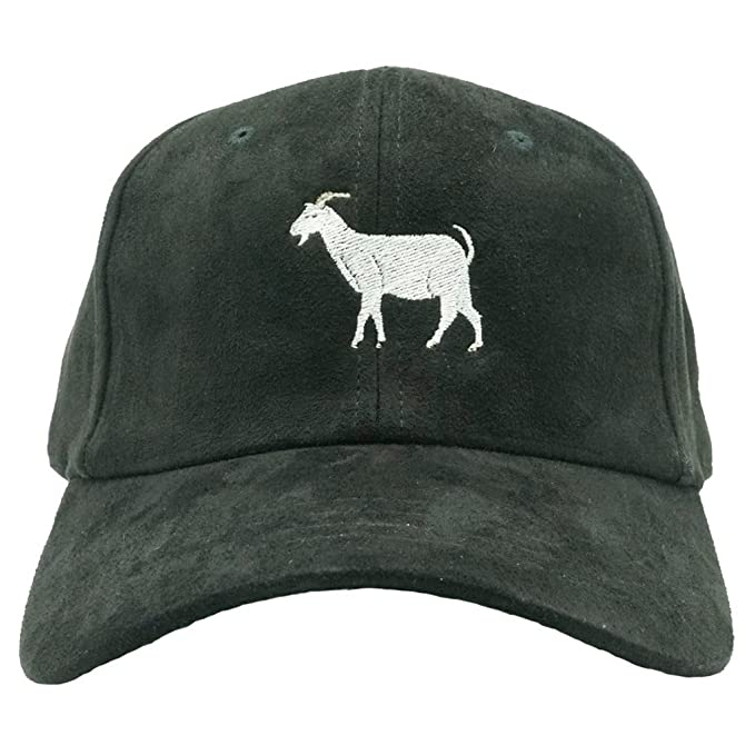 Nissi Goat Dad Hat (Black Suede) at Amazon Men s Clothing store  b05cf9a72606