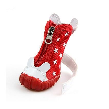 257b70d98cdc8 Amazon.com : Haoweidaoshanghang Dog Shoes, Teddy, Golden Retriever ...