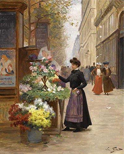Vendedora de Flores - Victor Gilbert | Tela Gigante Para Quadro