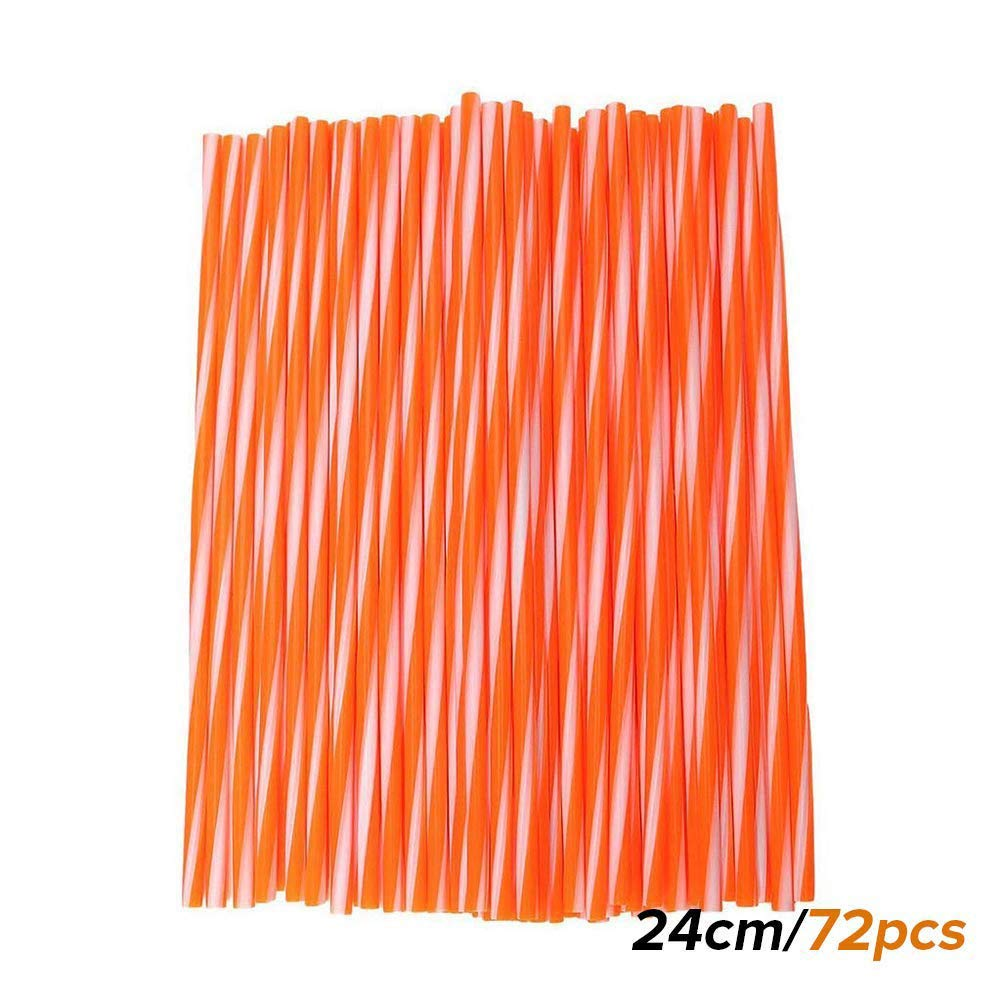 Orange BauZeit 72pcs//lot 24cm Motorcycle Spoke Skins Covers Universal Motocross Dirt Bike MX Enduro Off Road Wheel Rim Spoke Wraps Shrouds Skins Cover fit for Kawasaki YAMAHA SUZUKI 8-21 Rims